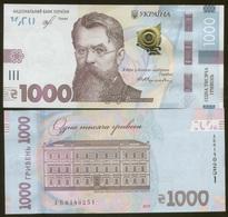 Ukraine 1000 Hryvna 2019 Pick New UNC Sign Smolij - Oekraïne