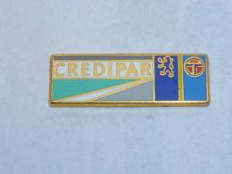 Pin's CREDIPAR, PEUGEOT - TALBOT, Signe ELIXYR - Peugeot