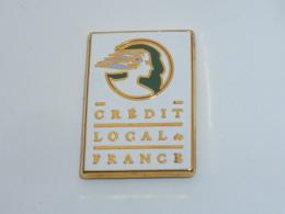 Pin's CREDIT LOCAL DE FRANCE, Signé ARTHUS BERTRAND - Banken