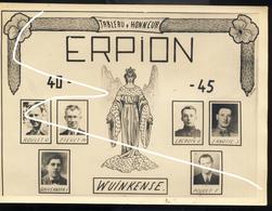JL Erpion 2e Guerre. Liste Des Tués De La Commune. Document De 1946 - 1939-45