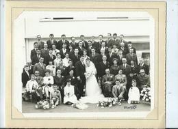 Photo Ancienne Mariage D'un Ecarteur Dans Les Landes - Anonyme Personen