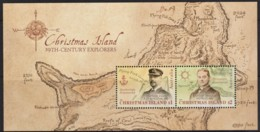 Christmas Island 2019 19th Century Explorers Minisheet MNH - Christmas Island