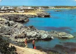 Spain Formentera Islas Baleares Panoramcia De Playa De Pujols - Andere
