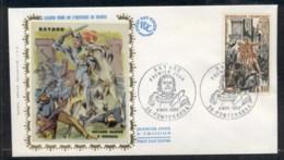 France 1969 Bayard FDC - 1960-1969