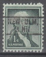 USA Precancel Vorausentwertung Preo, Locals Minnesota, New Ulm 802 - Vereinigte Staaten