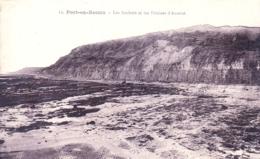 14 - Calvados - PORT En BESSIN - Les Rochers Et Les Falaises D Ameret - Port-en-Bessin-Huppain