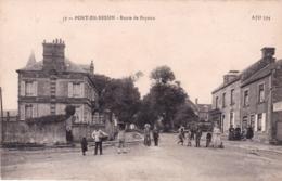 14 - Calvados - PORT En BESSIN -  Route De Bayeux - Animée - Port-en-Bessin-Huppain