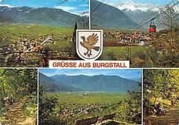 Italy Burgstall Im Etschtal Bei Meran, Graf Volkmarweg Cable Car Lfit Promenade - Italie
