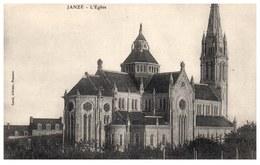 35 JANZE - L'église  [REF/S009494] - Frankrijk