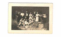 Cuttoli - Carte Photo - Groupe - Excursion Du 9 Août 1937 - Tampons Comité Miss France - Assoc Corse - Comité Napoléon - Sonstige Gemeinden