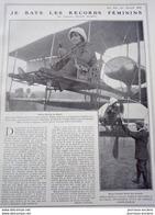 1911 L'AVIATRICE HÉLÈNE DUTRIEU - LA VIE AU GRAND AIR - Livres, BD, Revues