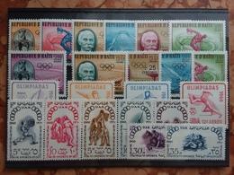 HAITI E ALTRI - Olimpiadi Roma 1960 - 4 Serie Nuove ** + Spese Postali - Haiti