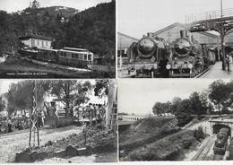 Trains Lot De 16 CPM - Cartes Postales