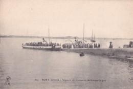 PORT LOUIS          VAPEURS DE LORIENT ET DE LARMOR A QUAI - Port Louis