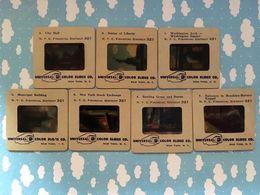 Boite De Diapositives Universal Color Slides New York Washington Lot De 13 Diapo Etats Unis Amerique USA - Diapositivas