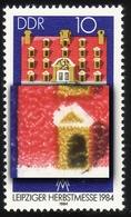 2891 Messe Leipzig 10 Pf: Verdickter Giebel, Feld 13 ** - Engraving Errors