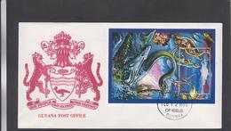 GYANA, 1995, FDC  ** - Postzegels