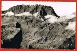 LA REUNION - Piton Des Neiges Vu De La Roche écrite - Cpsm Noir Et Blanc - écrite Au Verso 1961 Scanné- - La Réunion