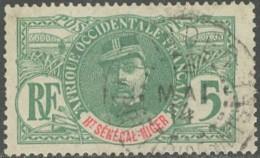 HSN Territoire Du Niger - Zinder  Sur N° 4 (YT) N° 4 (AM). Oblitération De 1914. - Alta Senegal Y Nigeria (1904-1921)