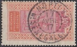 Haut-Sénégal Et Niger - Mopti Sur N° 22 (YT) N° 22 (AM). Oblitération De 1917. - Haut-Sénégal Et Niger (1904-1921)