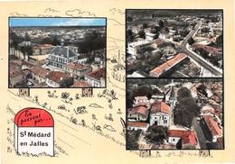 En Passant Par ... SAINT-MEDARD-en-JALLES - Mairie Et église - Vue Générale - Otros Municipios