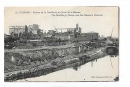 Cuinchy  -  Ruines  De  La  Distillerie  Et  Canal  De  La  Bassée - Altri Comuni