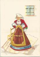 Z5429 Costumi Di Sardegna - Atzara (Nuoro) - Illustrazioni Illustration Lola Loy - Folklore / Non Viaggiata - Altre Città
