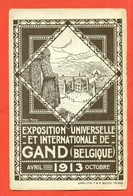 GAND - EXPOSITIOIN UNIVERSELLE DE GAND - 1913- - Belgio