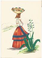Z5432 Costumi Di Sardegna - Fonni (Nuoro) - Illustrazioni Illustration Lola Loy - Folklore / Non Viaggiata - Altre Città