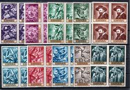 España Nº 1710-19 Jose Mª Sert (Bloque) Serie Completa En Nuevo - España