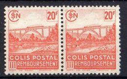 FRANCE (  COLIS POSTAUX ) : Y&T N°  211 X 2  TIMBRES  NEUFS  SANS  TRACE  DE  CHARNIERE , A  VOIR . - Mint/Hinged