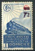 FRANCE (  COLIS POSTAUX ) : Y&T N°  227A  TIMBRE  NEUF  AVEC  TRACE  DE  CHARNIERE , ROUSSEUR , A  VOIR . - Spoorwegzegels