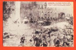 Nw186 Troubles Du Midi NARBONNE Fussillade Fusillade 20 Juin 1907 Place Hotel-de-Ville Par 139e Ligne 5 Morts-TREILLES - Narbonne