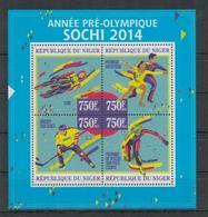 V707. Niger - MNH - 2013 - Sport - Olimpic Games - Sochi 2014 - Sellos