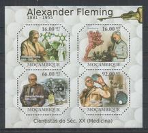 I312. Mozambique - MNH - 2011 - Famous People - Fleming - Celebridades