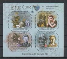 I312. Mozambique - MNH - 2011 - Famous People - Marie Curie - Celebridades