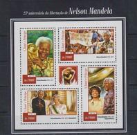 A707. Sao Tome And Principe - MNH - 2015 - Famous People - Nelson Mandela - Celebridades