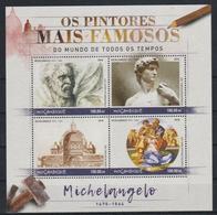 A314. Mozambique - MNH - 2016 - Art - Paintings - Michelangelo - Altri