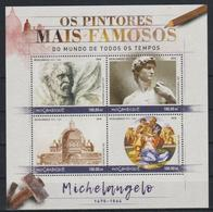 A314. Mozambique - MNH - 2016 - Art - Paintings - Michelangelo - Art