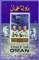 Oman 1971. Space Heroes.  In Memory To Soyouz 11. MNH - Espacio