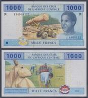 África Central Congo 1000 Francs 2002 Billete Banknote Sin Circular - Andere - Afrika