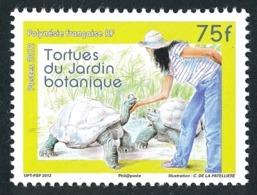 POLYNESIE 2012 - Yv. 1007 **  - Faune. Tortues Du Jardin Botanique  ..Réf.POL24931 - Neufs