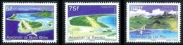 POLYNESIE 2012 - Yv. 998 999 Et 1000 **   Faciale= 1,51 EUR - Transport. Aéroports Des îles (3 Val.)  ..Réf.POL24930 - Polynésie Française
