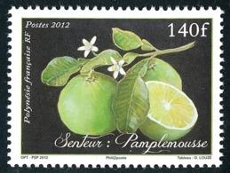 POLYNESIE 2012 - Yv. 997 **  - Senteur De Fruit : Pamplemousse  ..Réf.POL24927 - Polynésie Française