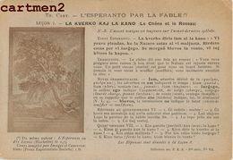 ESPERANTO PAR LA FABLE CHENE ET LE ROSEAU - Esperanto