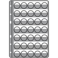 Hojas De Plástico COMPART, Para 35 Placas De Cava / Tapas Coronas, Negro - Placas De Cava