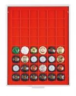 Champagne Lid Box (grey Drawer, Light Red Velour Insert) - Placas De Cava