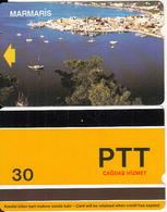 TURKEY - Marmaris(PTT-30 Units), Used - Turquie