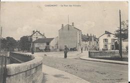 Carte Postale Ancienne De Chaumont Le Pont Des Flaneurs - Chaumont