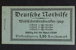 Deutsches Reich, MiNr. MH 28.1 Ungebraucht / Postfrisch - Markenheftchen